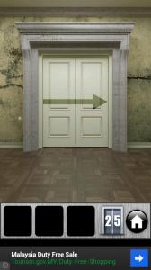 100 дверей побег 25 уровень