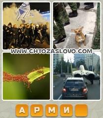Ответ: армия