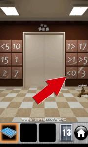 100 дверей 2013 13 уровень