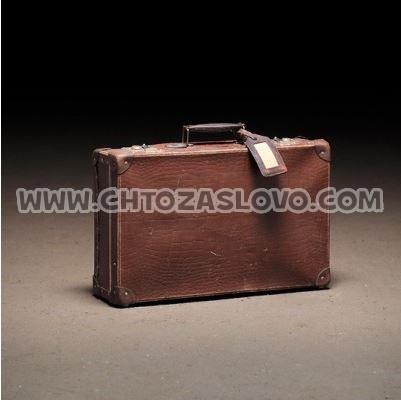 Ответ: чемодан