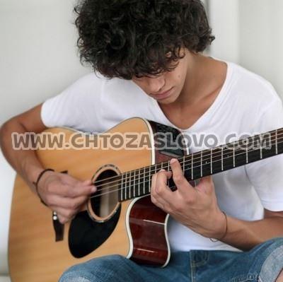 Ответ: гитарист