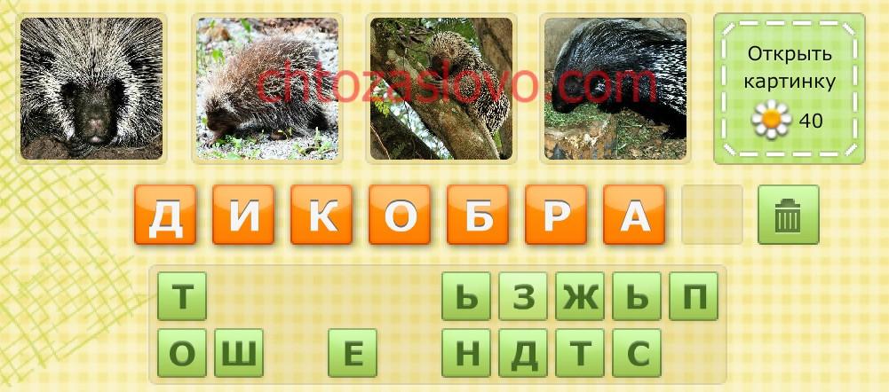 Слова из 8 букв в игре «Угадай слово» (с ромашками) Вконтакте и Одноклассниках
